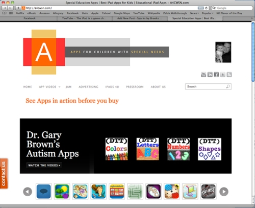 Apps for Children with Special Needs