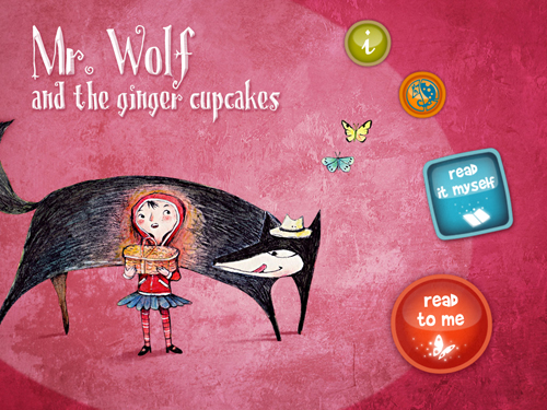 Mr. Wolf and the Ginger Cupcakes