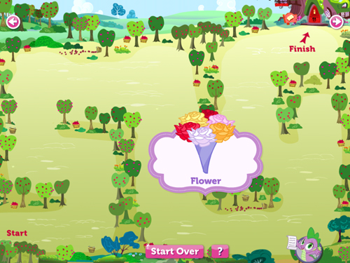 My Little Pony maze