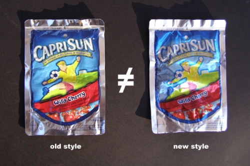 CapriSun New Pouch Design