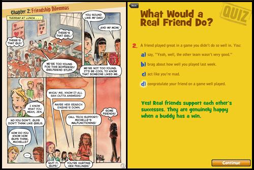Middle School Confidential App