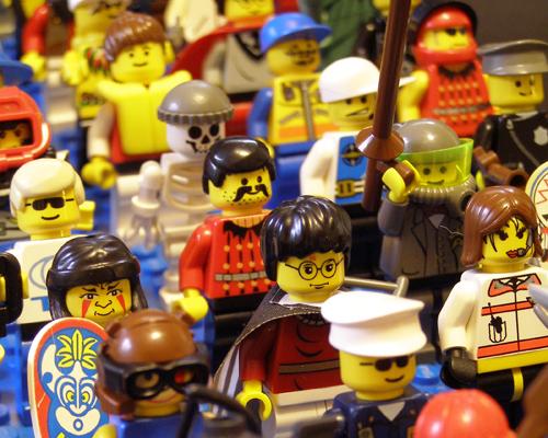 Lego Minifig Army